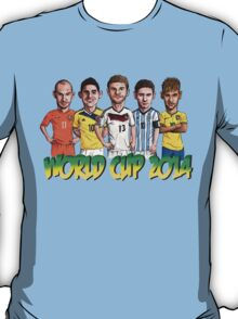 World Cup footballers T-Shirt