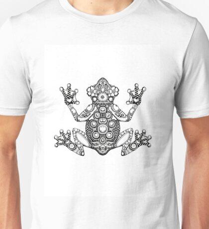 Frog Zentangle Unisex T-Shirt