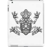 Frog Zentangle iPad Case/Skin