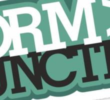 Form > Function (6) Sticker