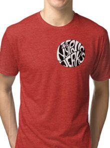 Hypnic Jerks Circle Logo Motif Tri-blend T-Shirt