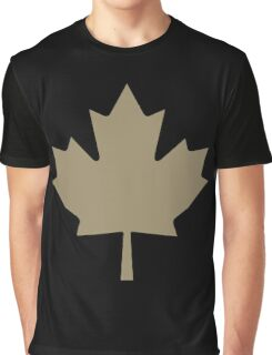 Maple Leaf - Drake Gold Graphic T-Shirt