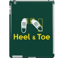 Heel & Toe (1) iPad Case/Skin