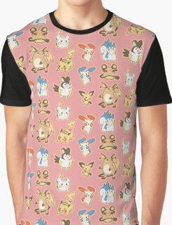 Electric Pkmn Graphic T-Shirt