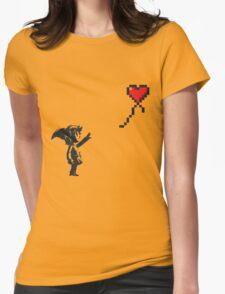 Banksy Zelda Womens Fitted T-Shirt