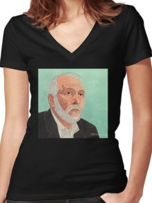Gregg Popovich Women's Fitted V-Neck T-Shirt