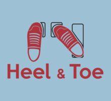 Heel & Toe (2) Kids Tee