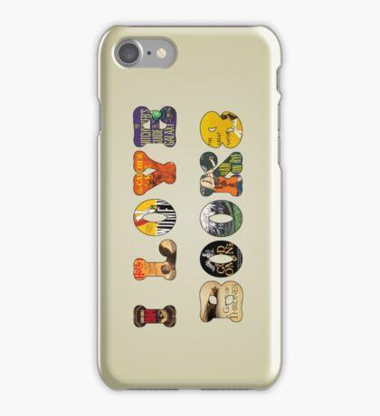 I Love Books iPhone Case/Skin