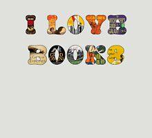 I Love Books T-Shirt