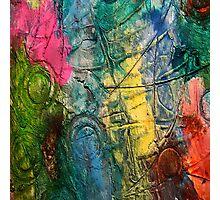 Mixed media 11 by rafi talby Photographic Print