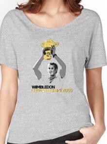 Andy Murray Wimbledon Champions 2016 Women's Relaxed Fit T-Shirt