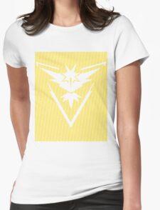 Team Instinct Word Pattern Womens Fitted T-Shirt