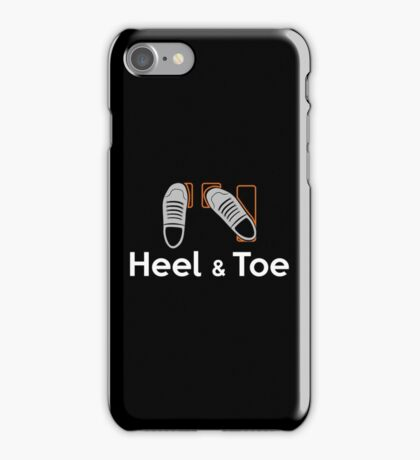 Heel & Toe (4) iPhone Case/Skin