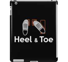 Heel & Toe (4) iPad Case/Skin