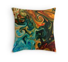 Psychedelica #2 Throw Pillow