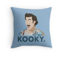 Kooky. Throw Pillow