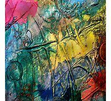 Mixed media 13 by rafi talby Photographic Print