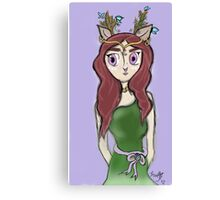 Elven Deer Canvas Print