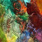 Mixed media 14 by rafi talby by RAFI TALBY