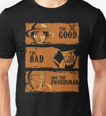 The Good The Bad and the swordsman  Unisex T-Shirt