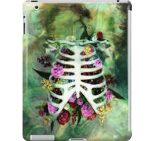 Bones and Flowers iPad Case/Skin