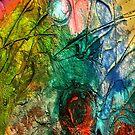 Mixed media 15 by rafi talby by RAFI TALBY