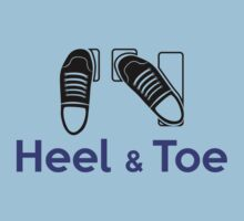 Heel & Toe (6) One Piece - Short Sleeve