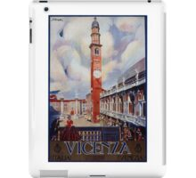Vintage Vicenza Italy Travel iPad Case/Skin