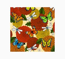 Flowers, Dragonflies, and Butterflies Unisex T-Shirt