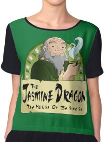 The Jasmine Dragon Tea House Chiffon Top