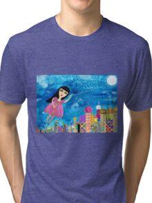 The Moon is my Balloon Tri-blend T-Shirt
