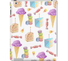 Junk Food Dessert Pattern iPad Case/Skin