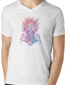 Corset Garden Mens V-Neck T-Shirt