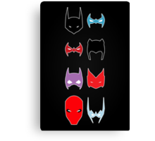 Bat Family Canvas Print