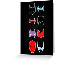Bat Family Greeting Card