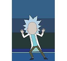 Tiny Rick - Rick and Morty Photographic Print