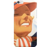 Vintage Winter Sports New England Travel iPhone Case/Skin