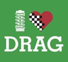 I Love DRAG (2) Kids Clothes