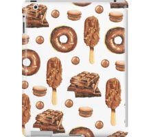 Chocolate Lovers Dessert Pattern iPad Case/Skin