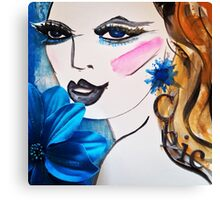 Girl Chic Canvas Print