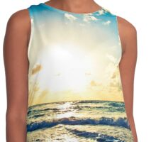 Life is Waiting, Get your feet wet... Contrast Tank