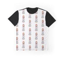 Hanamaru Kunikida with Hearts (larger) Graphic T-Shirt