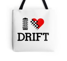 I Love Drift (1) Tote Bag