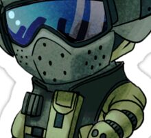 Fuze chibi Sticker