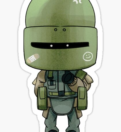 Tachanka Chibi Sticker