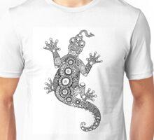 Lizard Zentangle Unisex T-Shirt