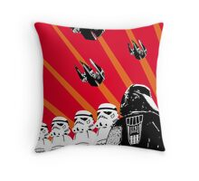Star Wars Propaganda Poster (Soviet style) Throw Pillow