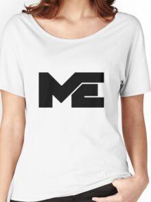Matthew Espinosa Black Logo Women's Relaxed Fit T-Shirt