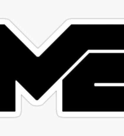 Matthew Espinosa Black Logo Sticker