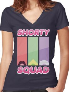 Steven Universe Shorty Squad Shirt Women's Fitted V-Neck T-Shirt